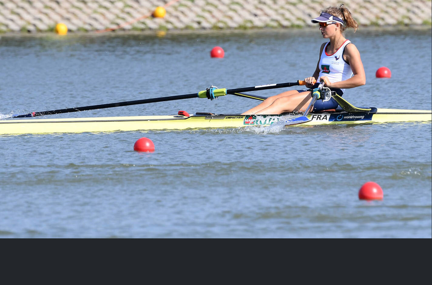 World Rowing Championships Plovdiv 2018 LW1x Gold FRA X14