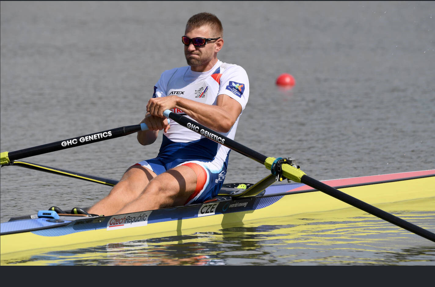 World Rowing Championships Plovdiv 2018 M1x Silver CZE