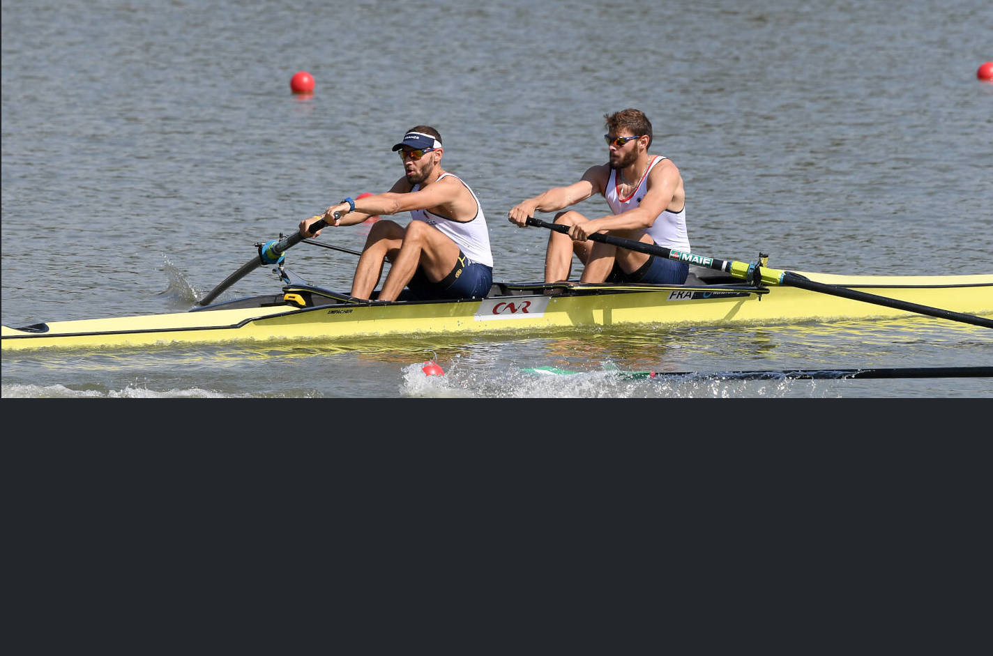 World Rowing Championships Plovdiv 2018 M2- Bronze FRA C32
