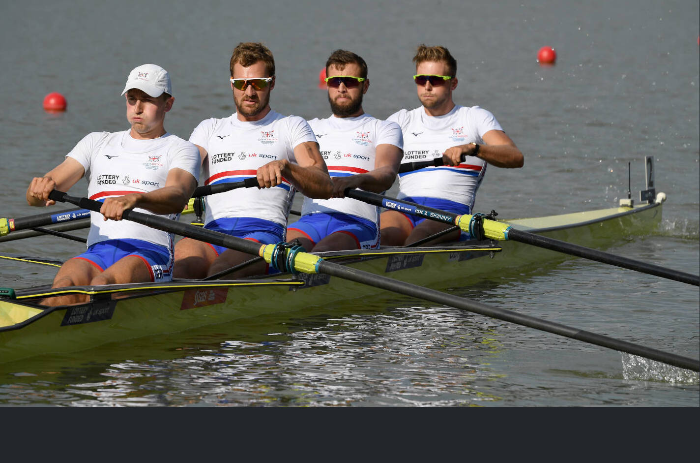 World Rowing Championships Plovdiv 2018 M4- Bronze GBR C48