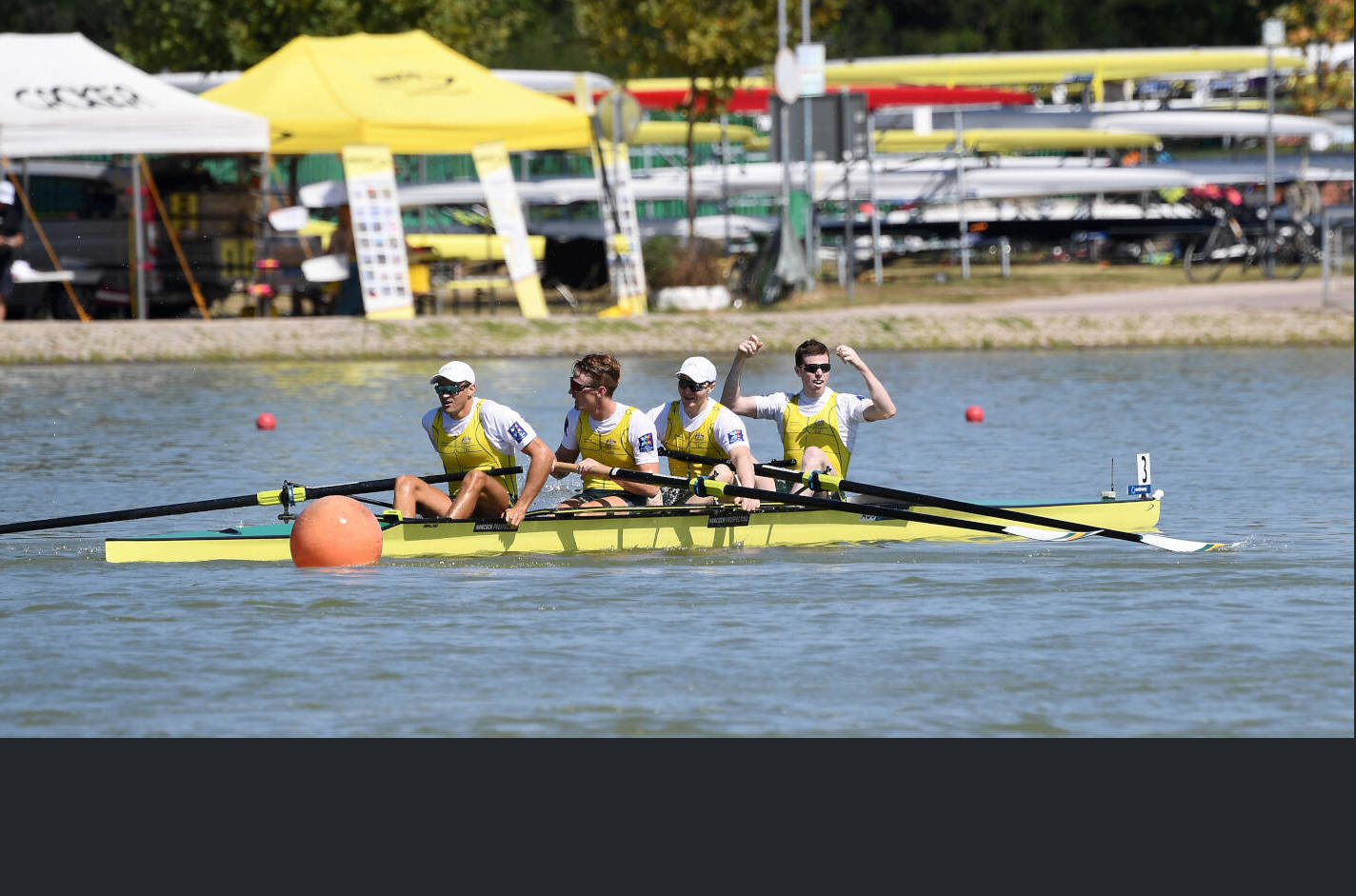 World Rowing Championships Plovdiv 2018 M4- Gold AUS C48