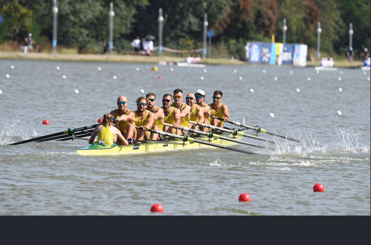 World Rowing Championships Plovdiv 2018 M8+ Silver AUS