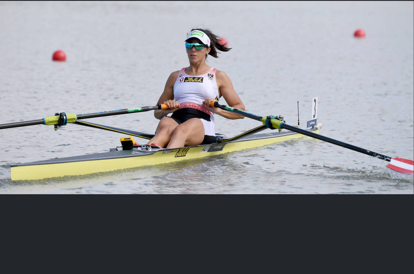 World Rowing Championships Plovdiv 2018 W1x Bronze AUT X17