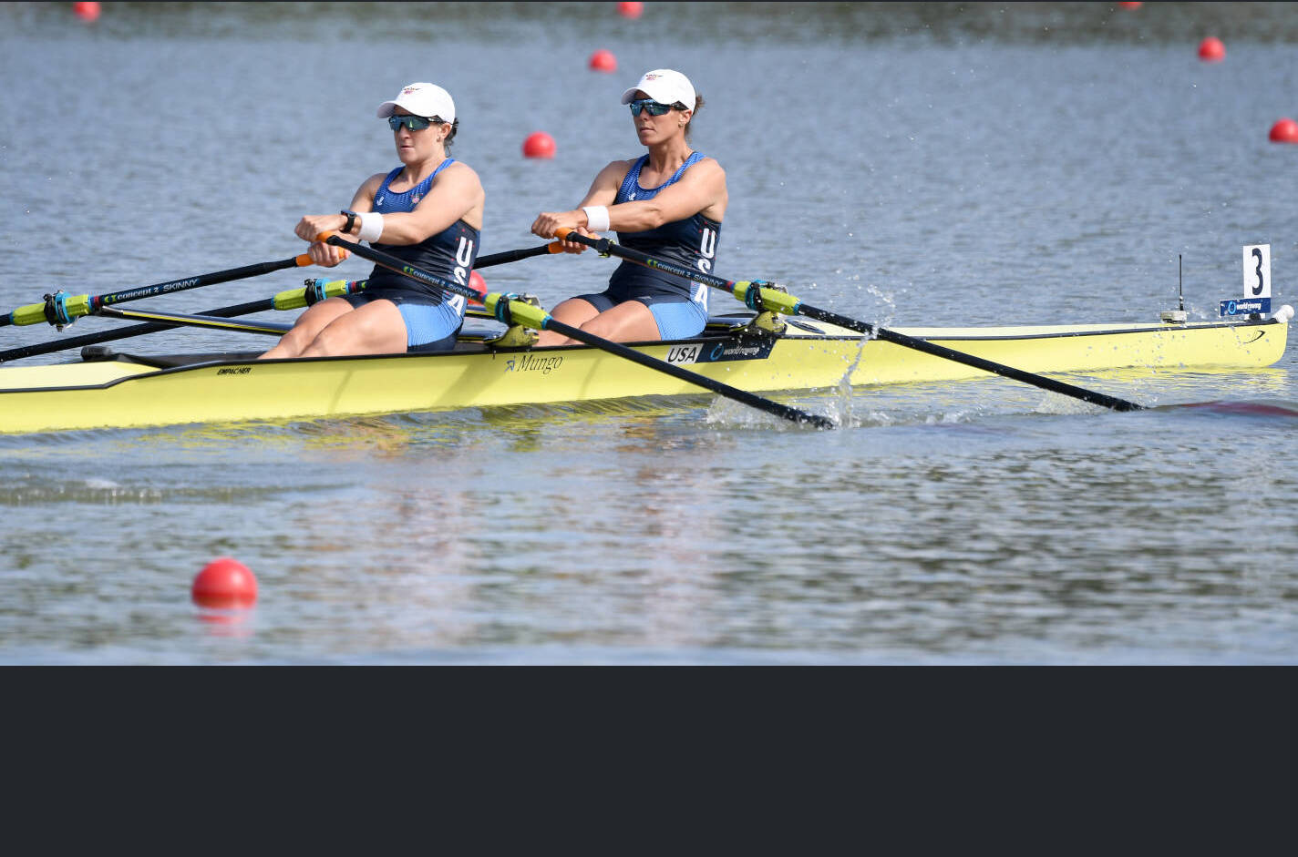World Rowing Championships Plovdiv 2018 W2x Bronze USA X25