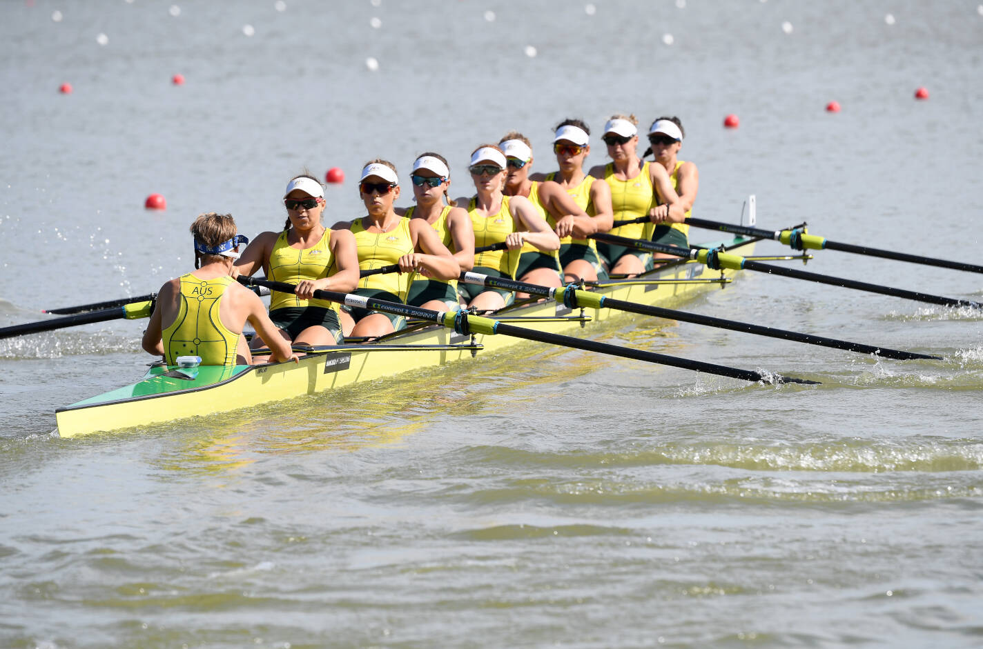World Rowing Championships Plovdiv 2018 W8+ Bronze AUS C86