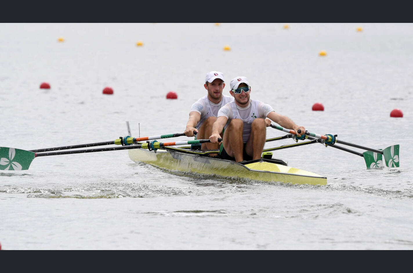 European Rowing Championships Glasgow LM2x Silver IRL