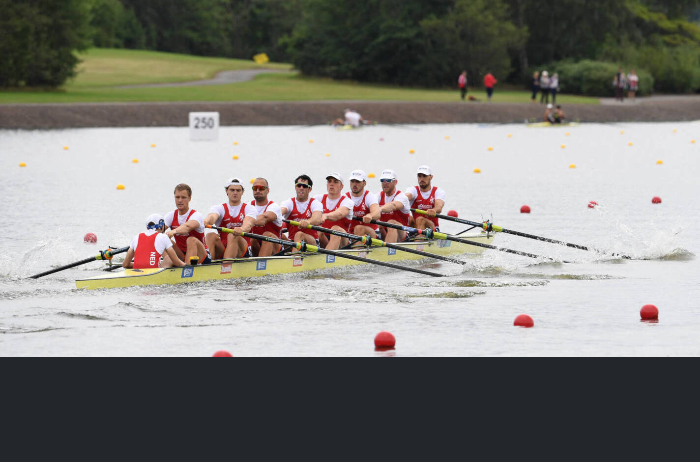 European Rowing Championships Glasgow M8+ Silver NED