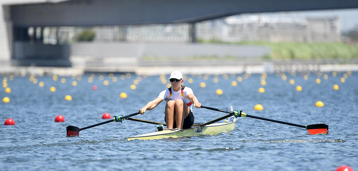 World Rowing Junior Championsips JF 1x Gold GER