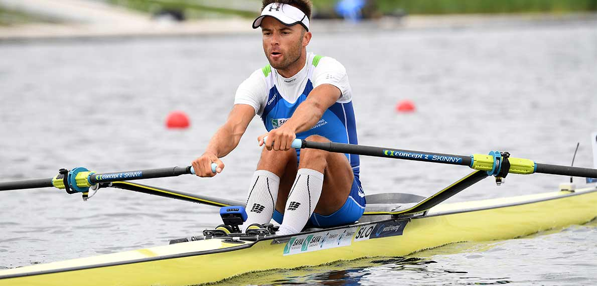 World Rowing Cup III Rotterdam LM1x Silver SLO