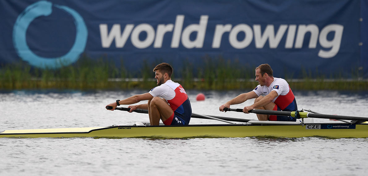 World Rowing Cup III Rotterdam LM2- Gold CZE