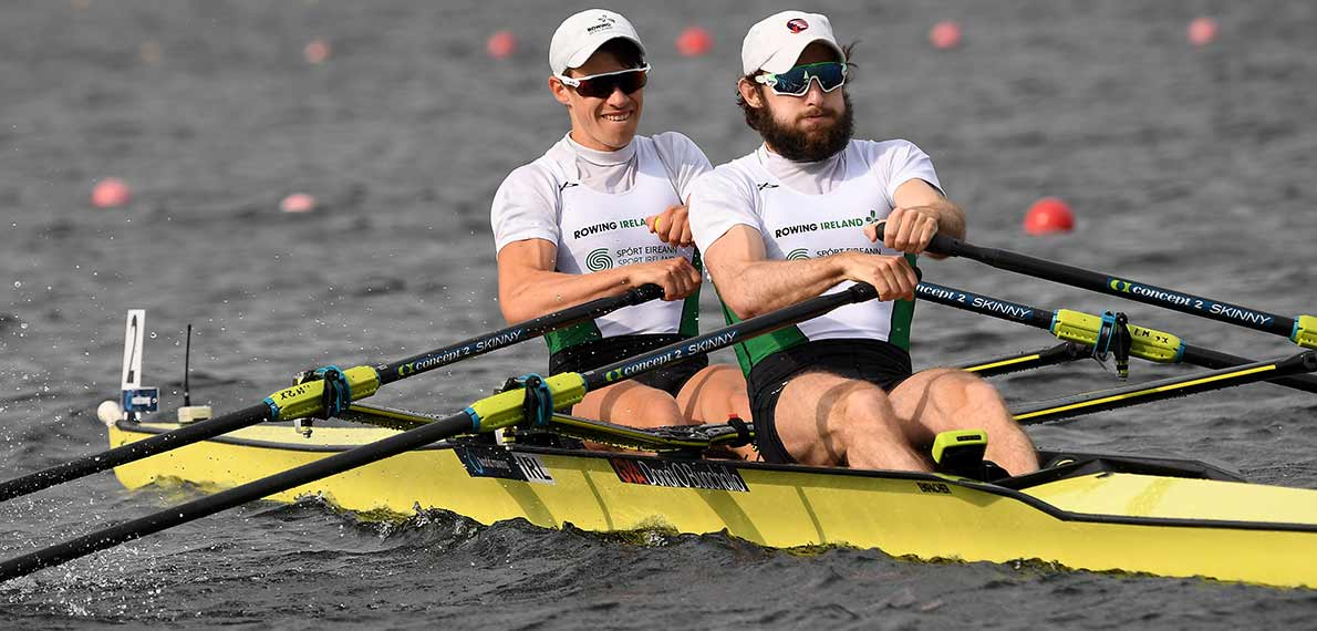World Rowing Cup III Rotterdam LM2x Silver IRL