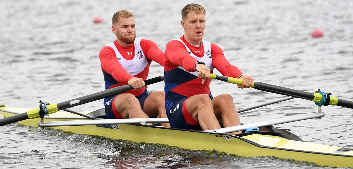 World Rowing Cup III Rotterdam M2- Silver CZE