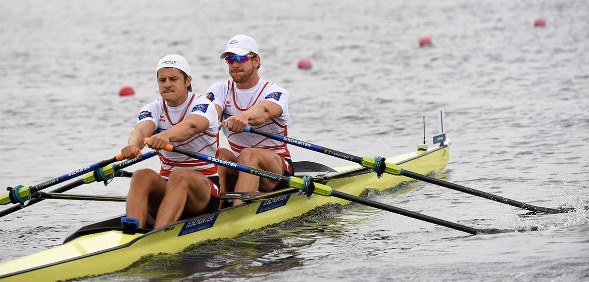 World Rowing Cup III Rotterdam M2x Gold SUI, X22