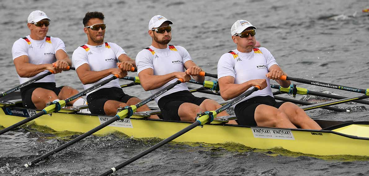 World Rowing Cup III Rotterdam M4x Silver GER
