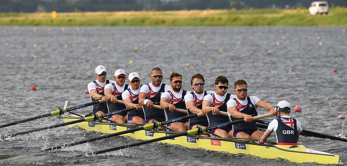 World Rowing Cup III Rotterdam M8+ Gold GBR