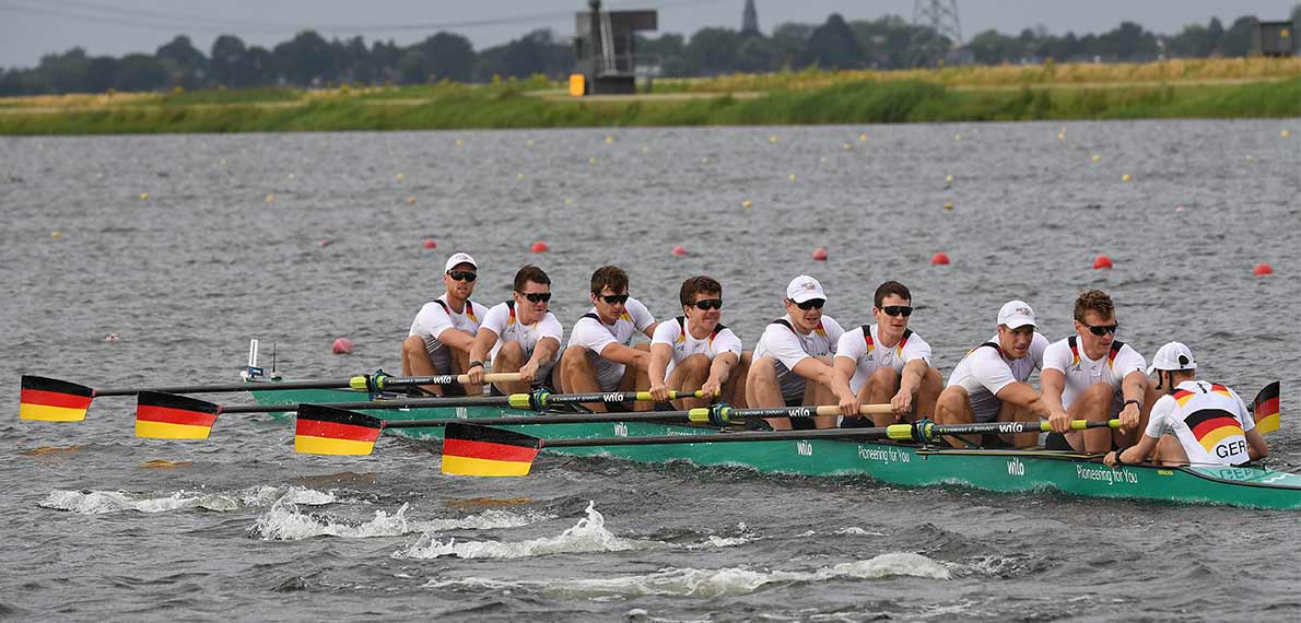 World Rowing Cup III Rotterdam M8+ Silver GER