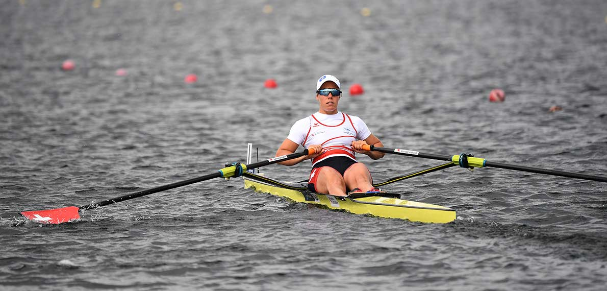 World Rowing Cup III Rotterdam W1x Silver SUI