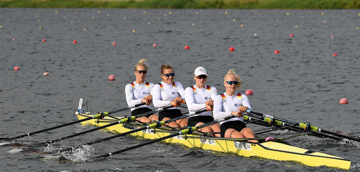World Rowing Cup III Rotterdam W4x Gold GER