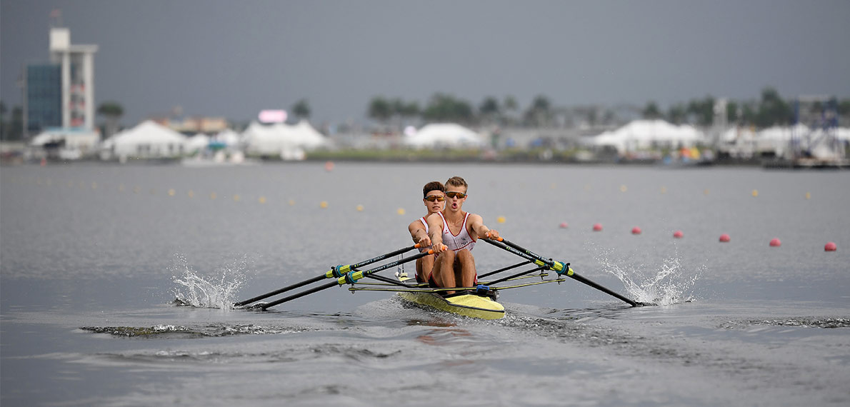 World Rowing Under 23 Championship BLM 2x Bronze SUI
