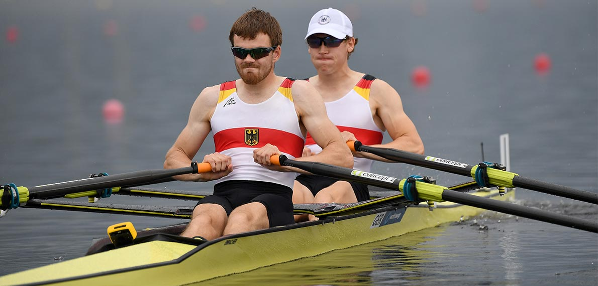 World Rowing Under 23 Championship BLM 2x Gold GER, X35