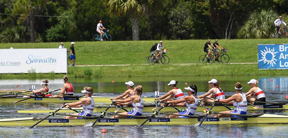 World Rowing Under 23 Championship BW 4x Gold GBR
