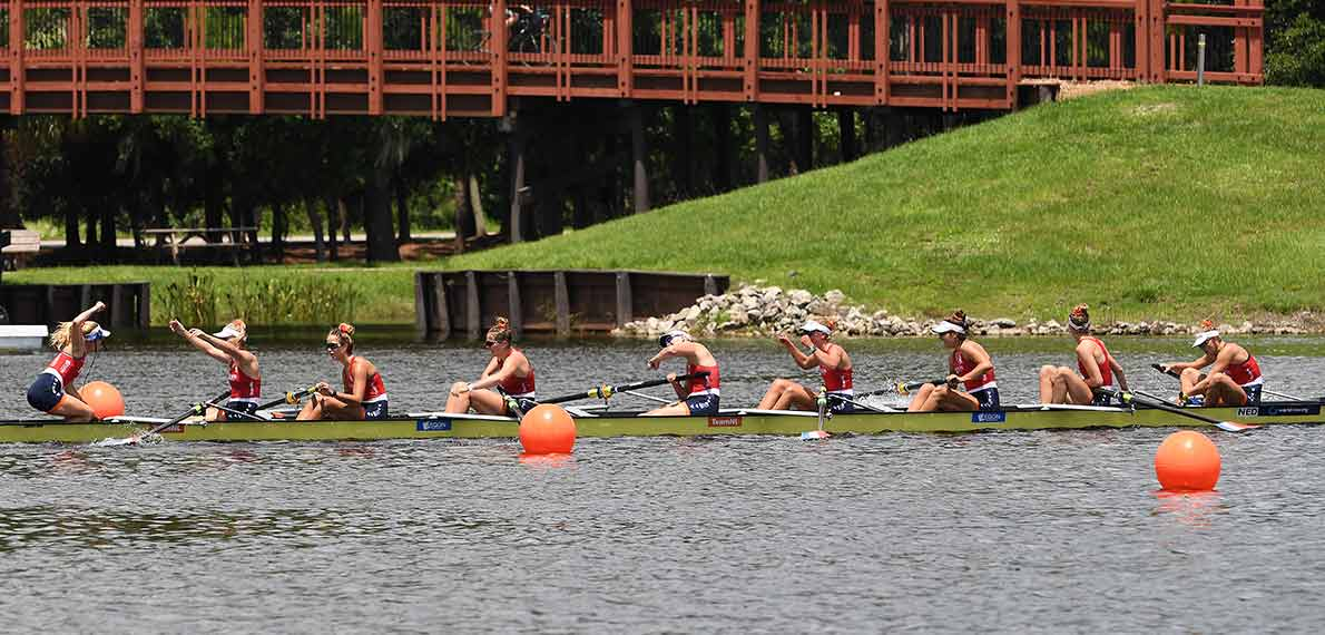 World Rowing Under 23 Championship BW 8+ Gold NED
