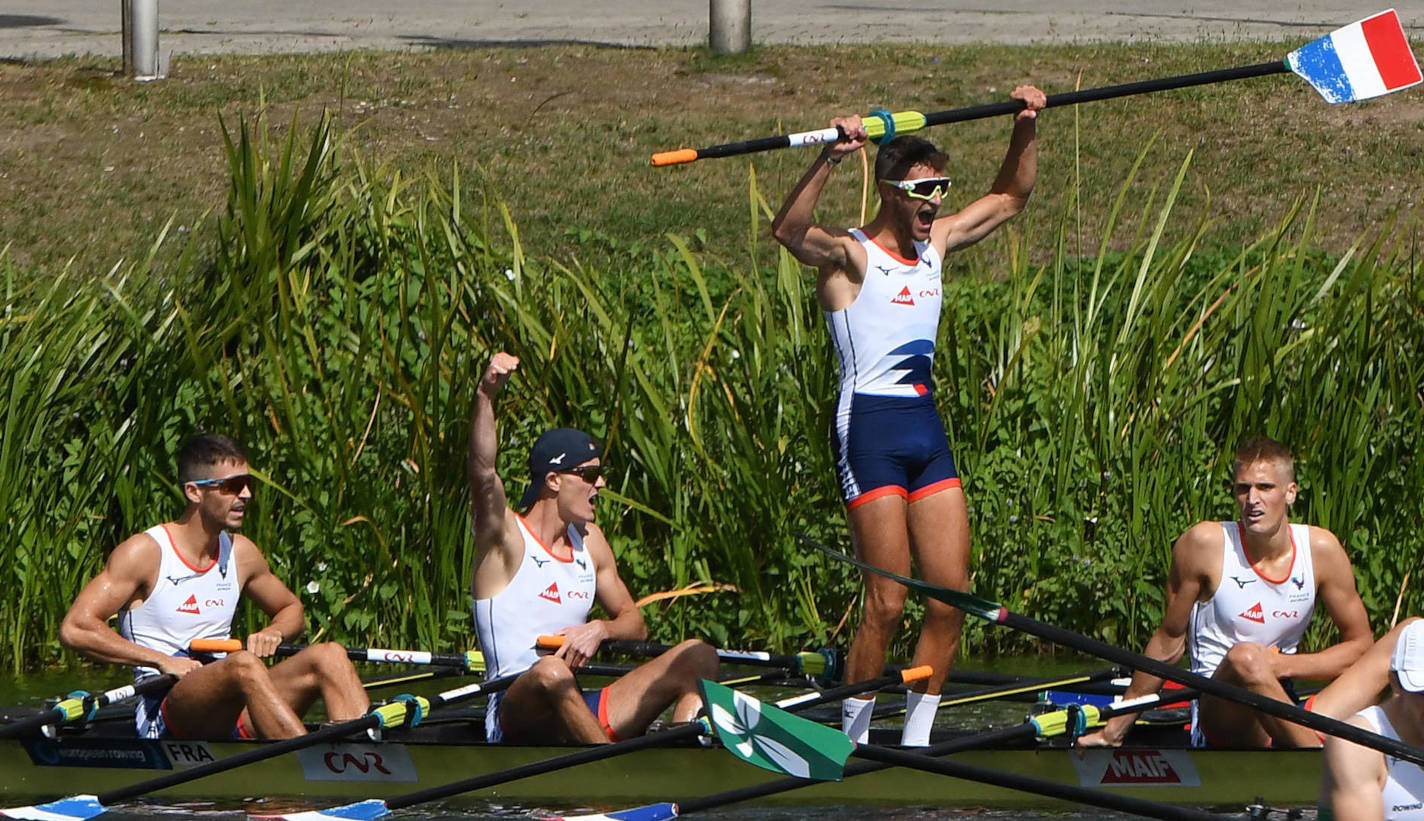 European Rowing Under 23 Championships BLM4x Gold F RA