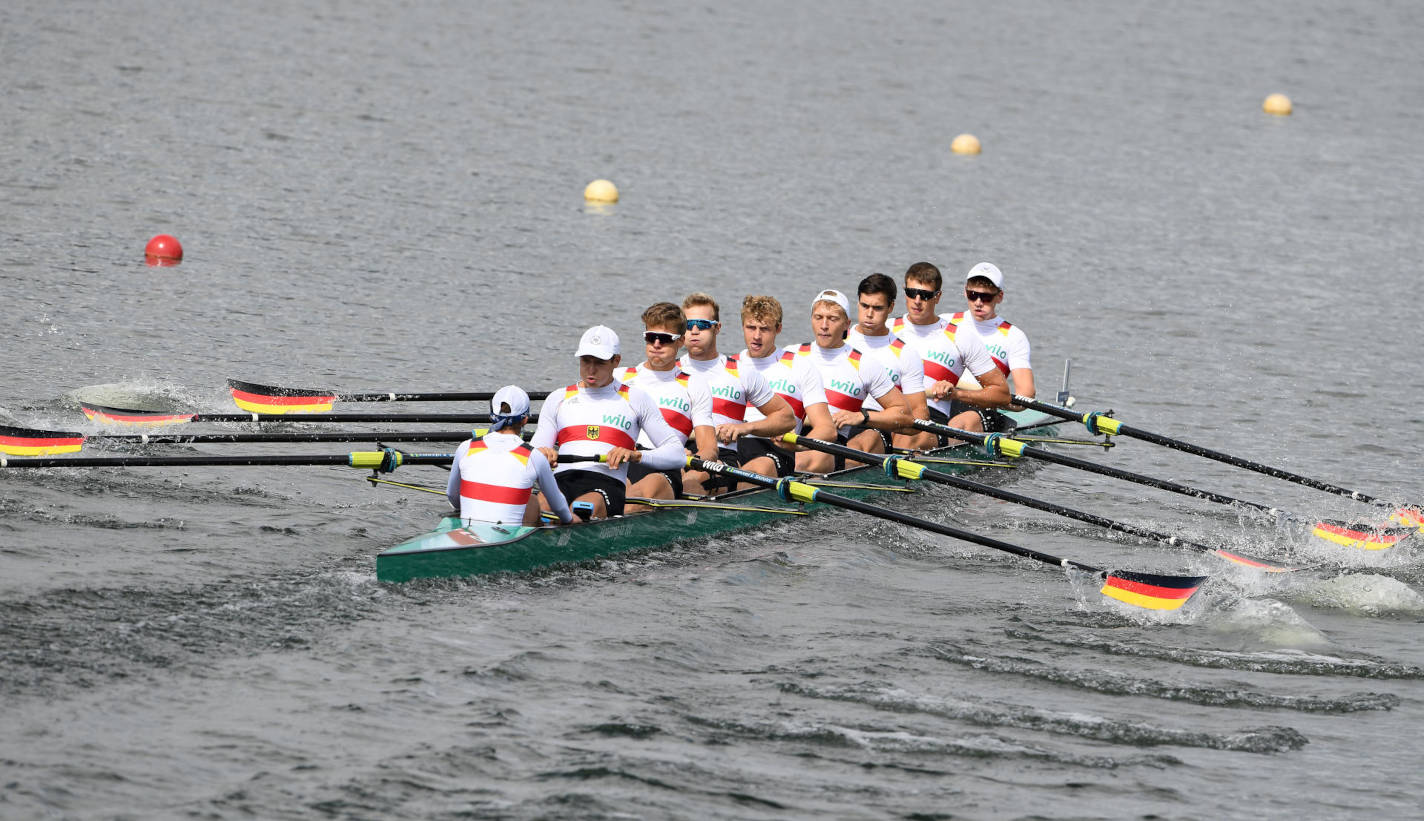 European Rowing Under 23 Championships BM8+ Gold GER