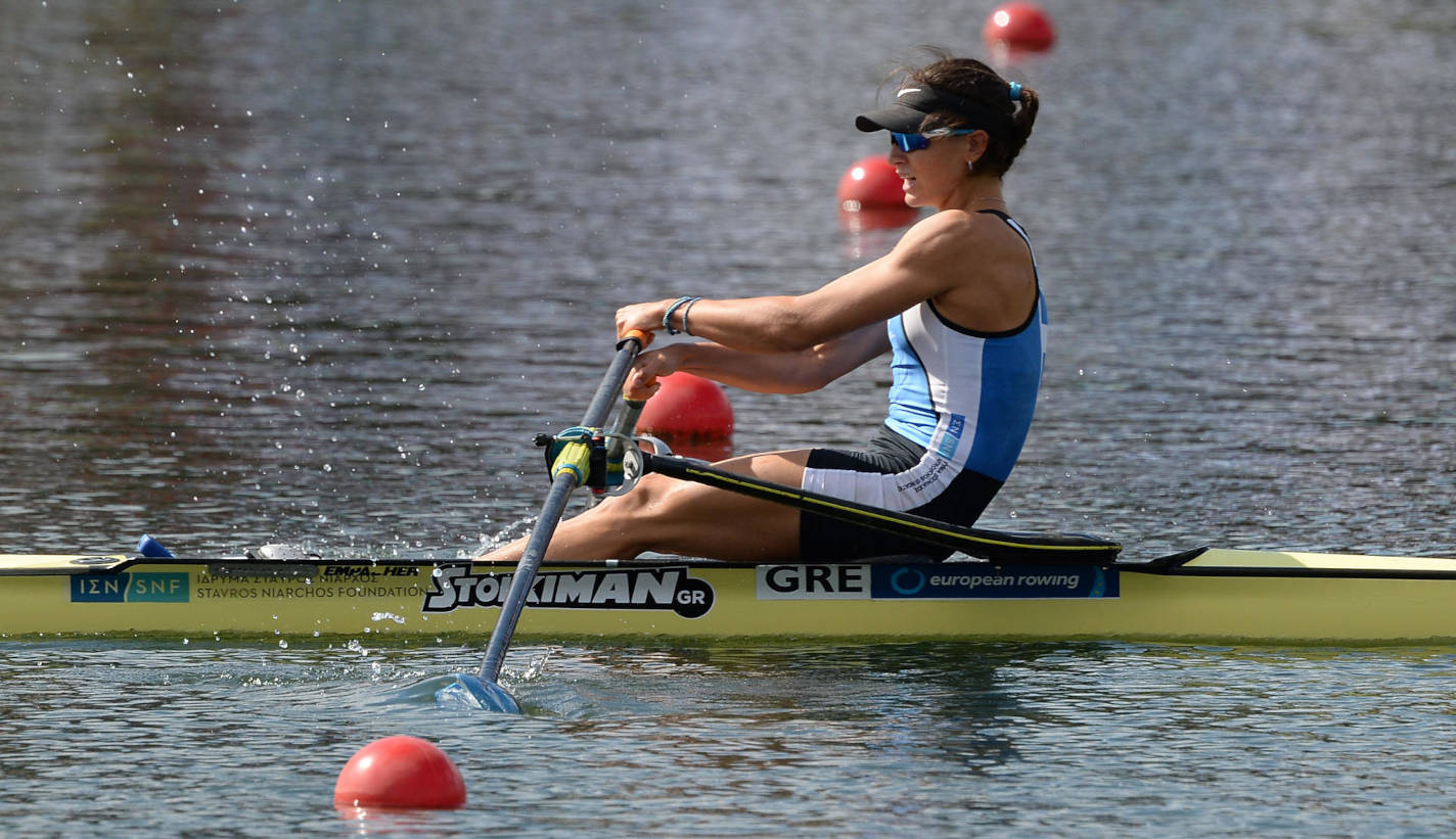 European Rowing Under 23 Championships BW1x Gold GRE