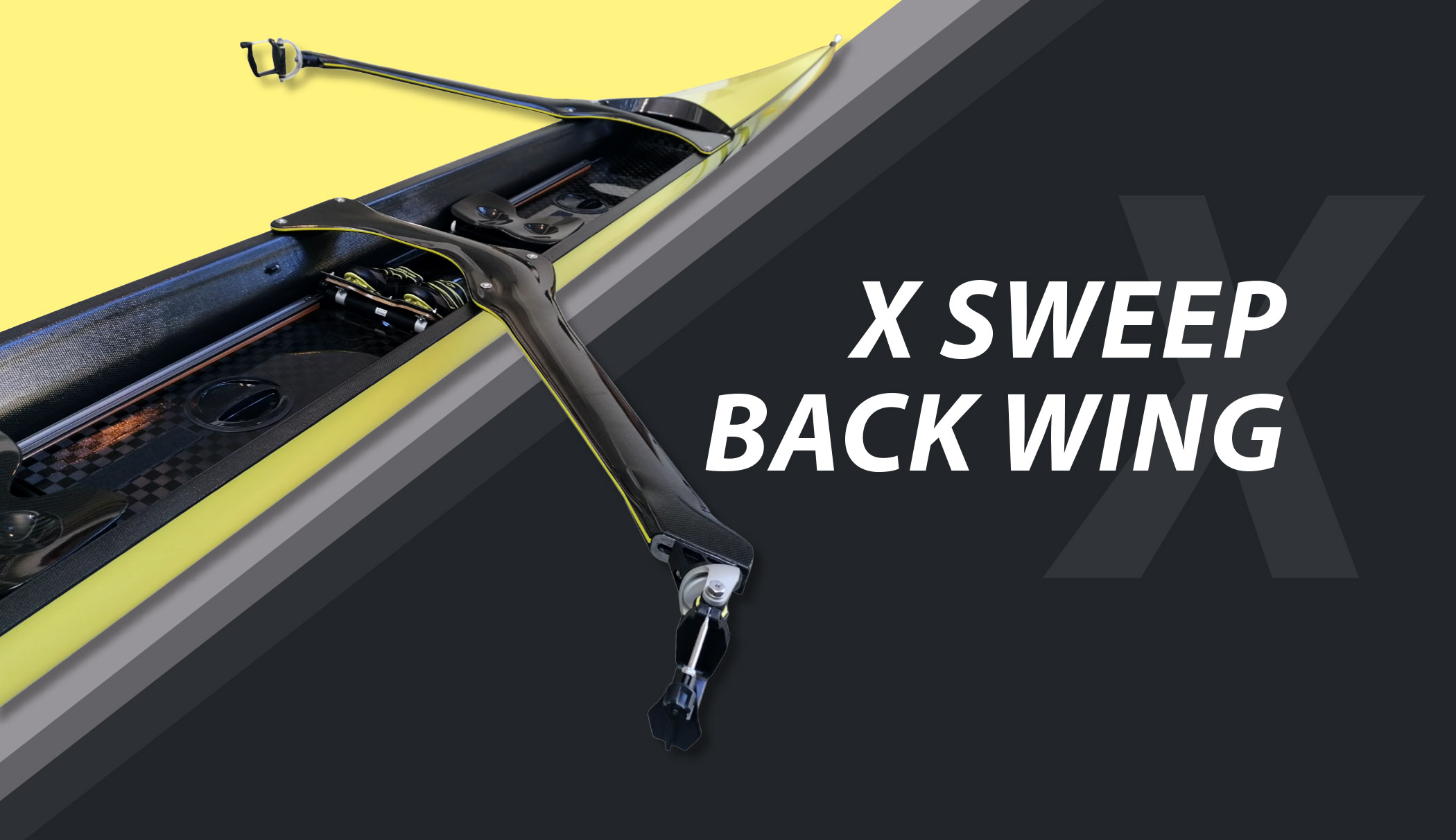 X sweep back wing