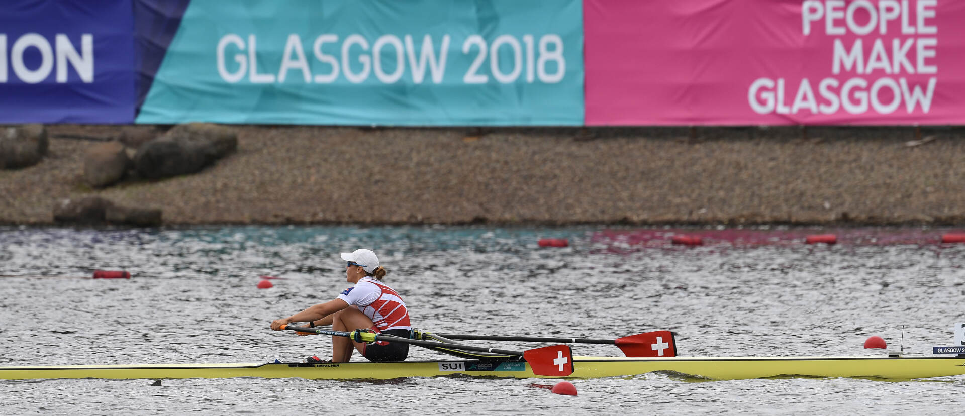 European Rowing Championships Glasgow W1x Gold SUI
