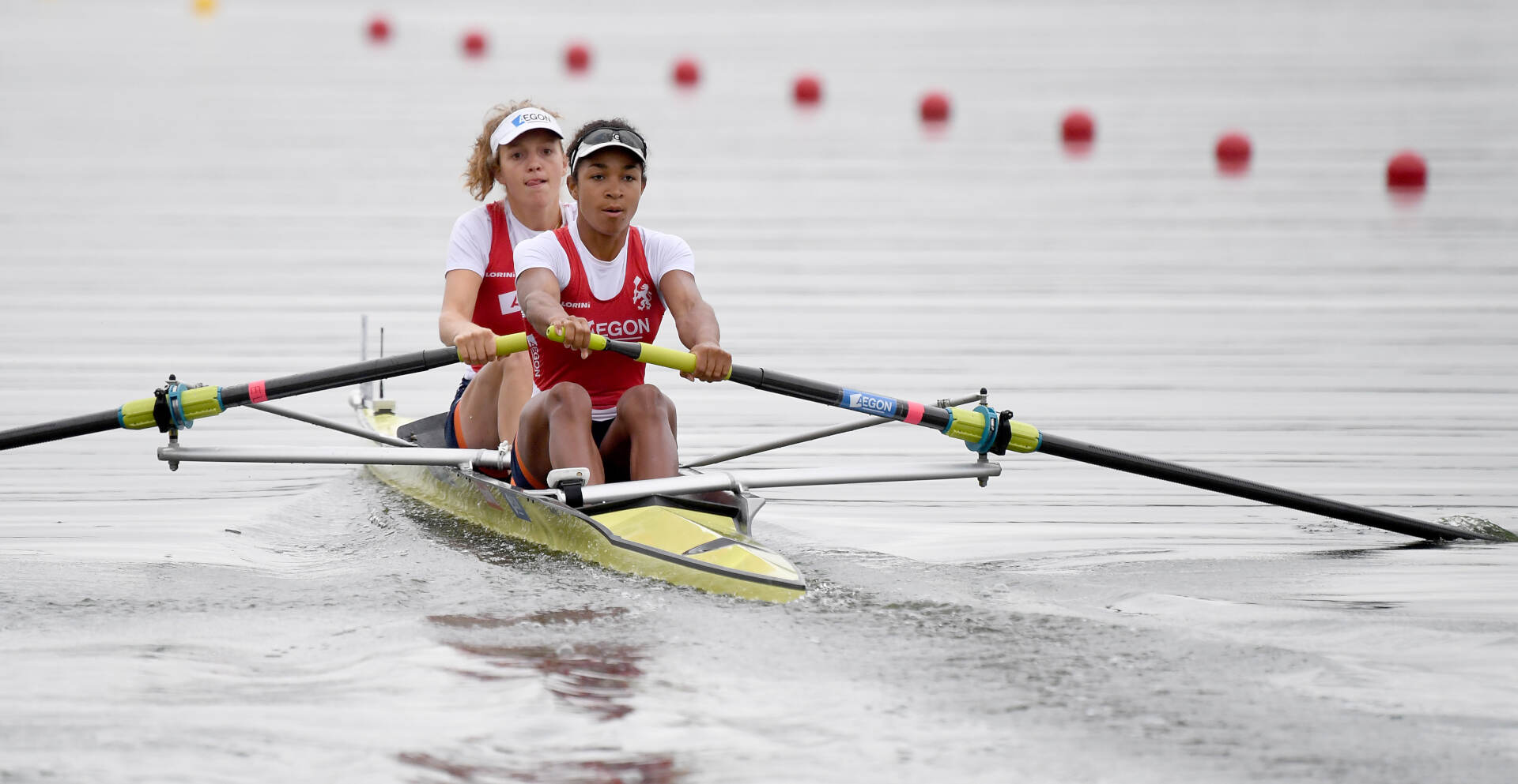 European Rowing Championships Glasgow W2- Silver NED