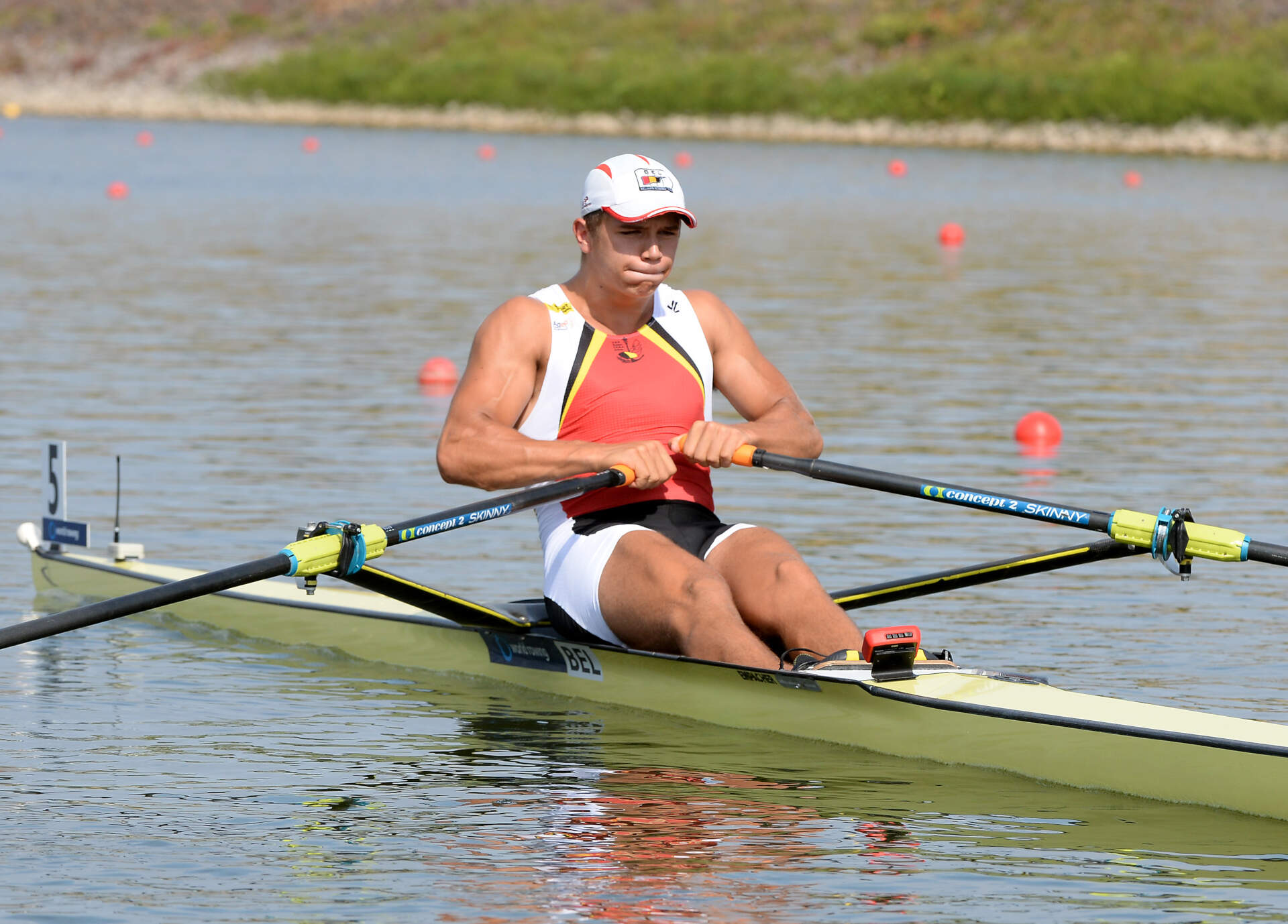 World Rowing Junior Championships JM 1x Bronze BEL