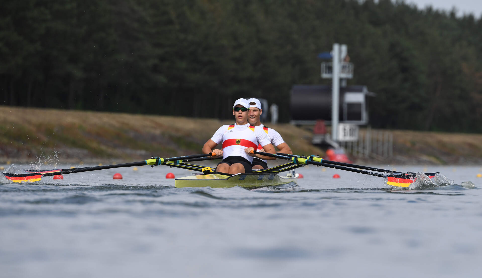 World Rowing Junior Championships JM 2x Gold GER