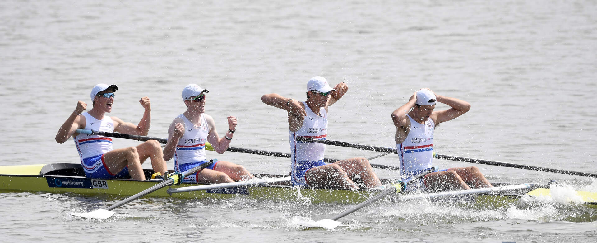 World Rowing Junior Championships JM 4- Gold GBR