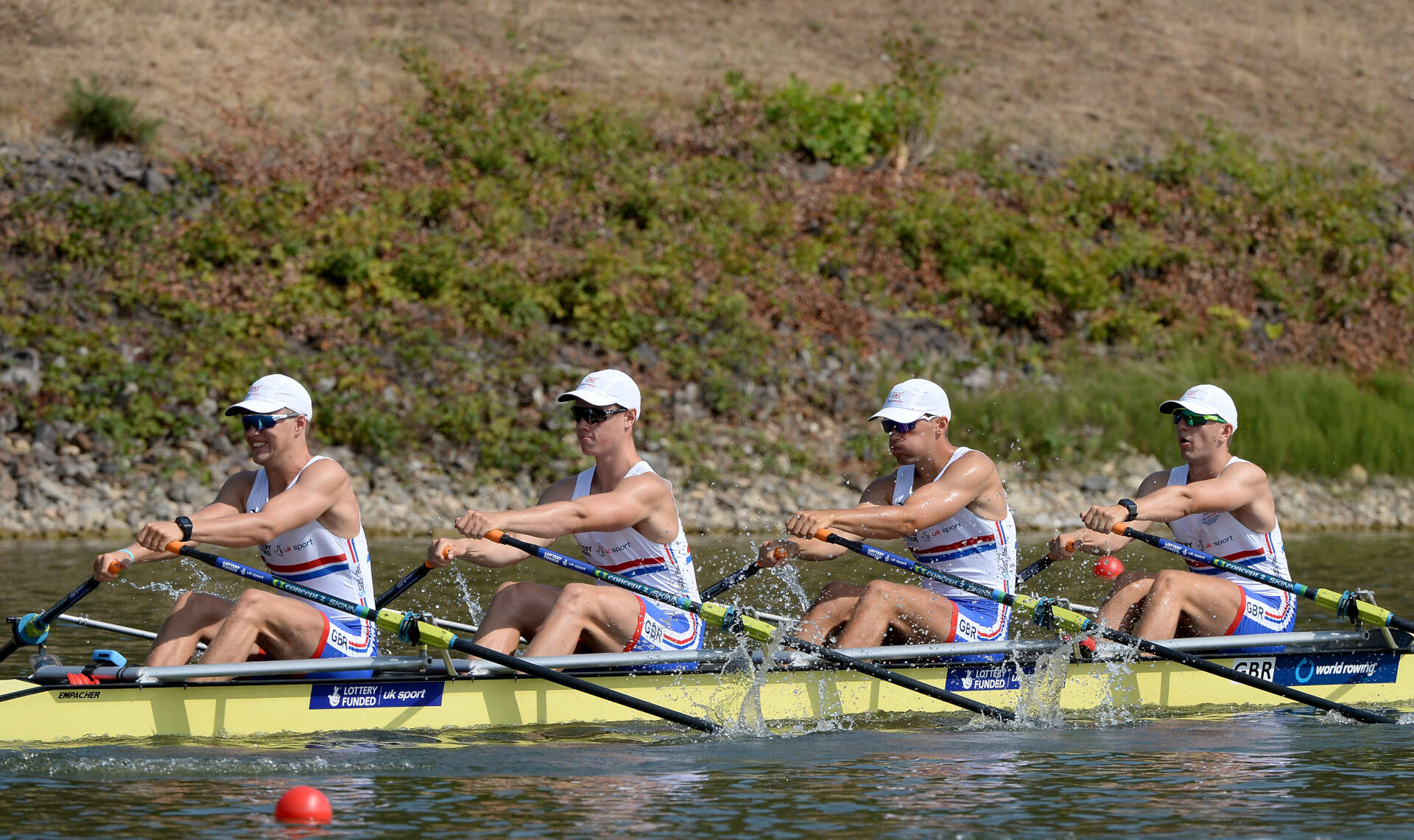 World Rowing Junior Championships JM 4x Silver GBR