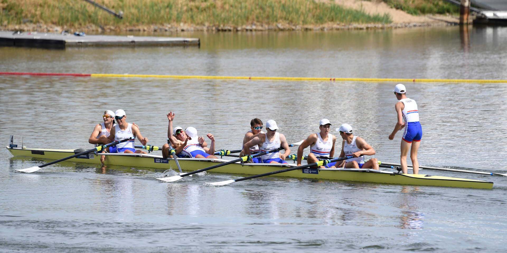 World Rowing Junior Championships JM 8+ Gold GBR