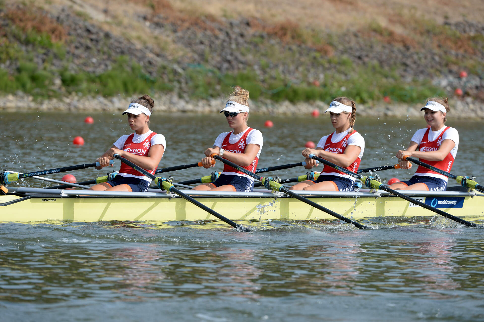 World Rowing Junior Championships JW 4x Bronze NED