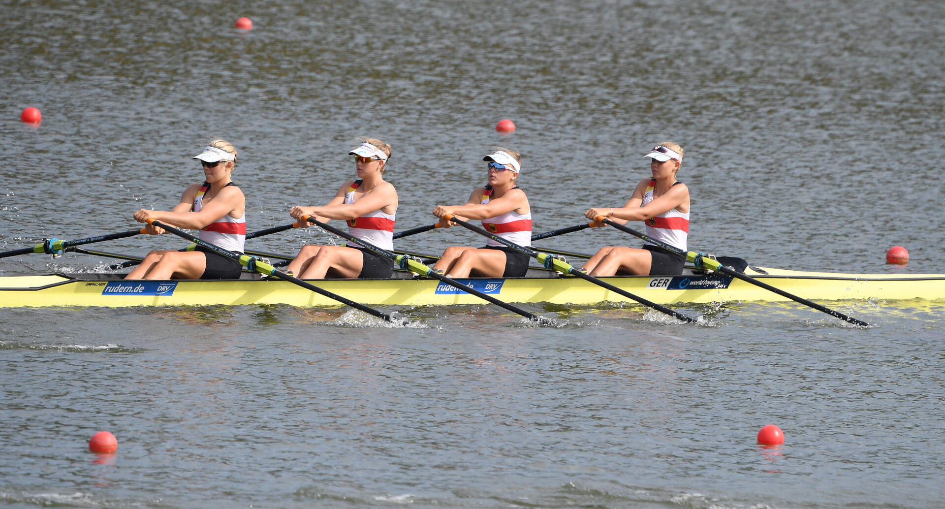 World Rowing Junior Championships JW 4x Silver GER