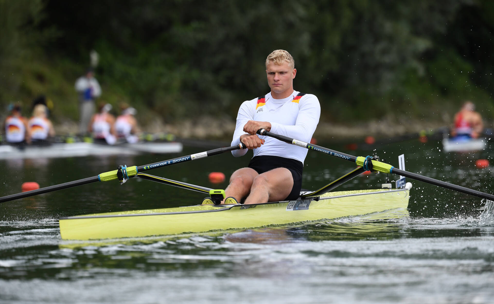 World Rowing Cup II Linz M1x Bronze GER