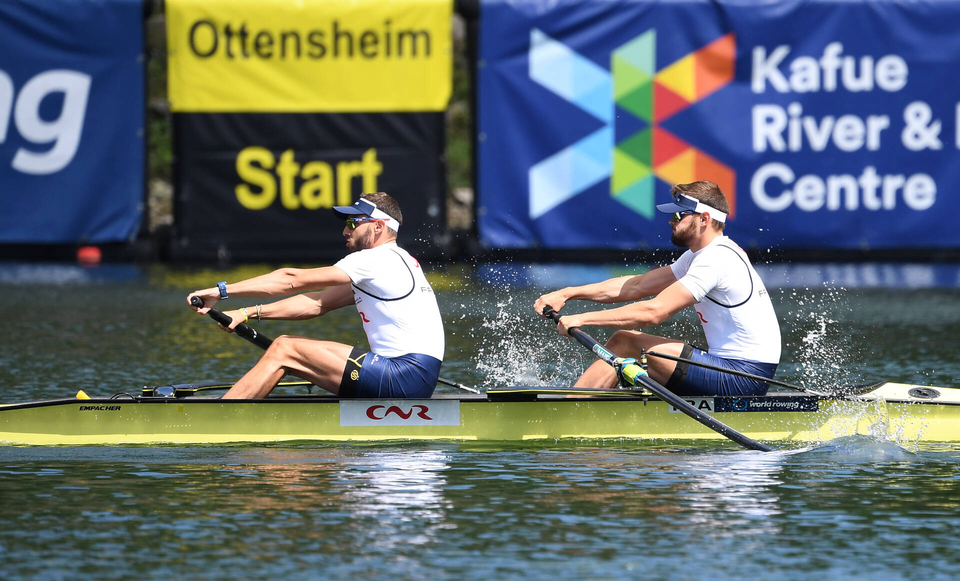 World Rowing Cup II Linz M2  Bronze FRA