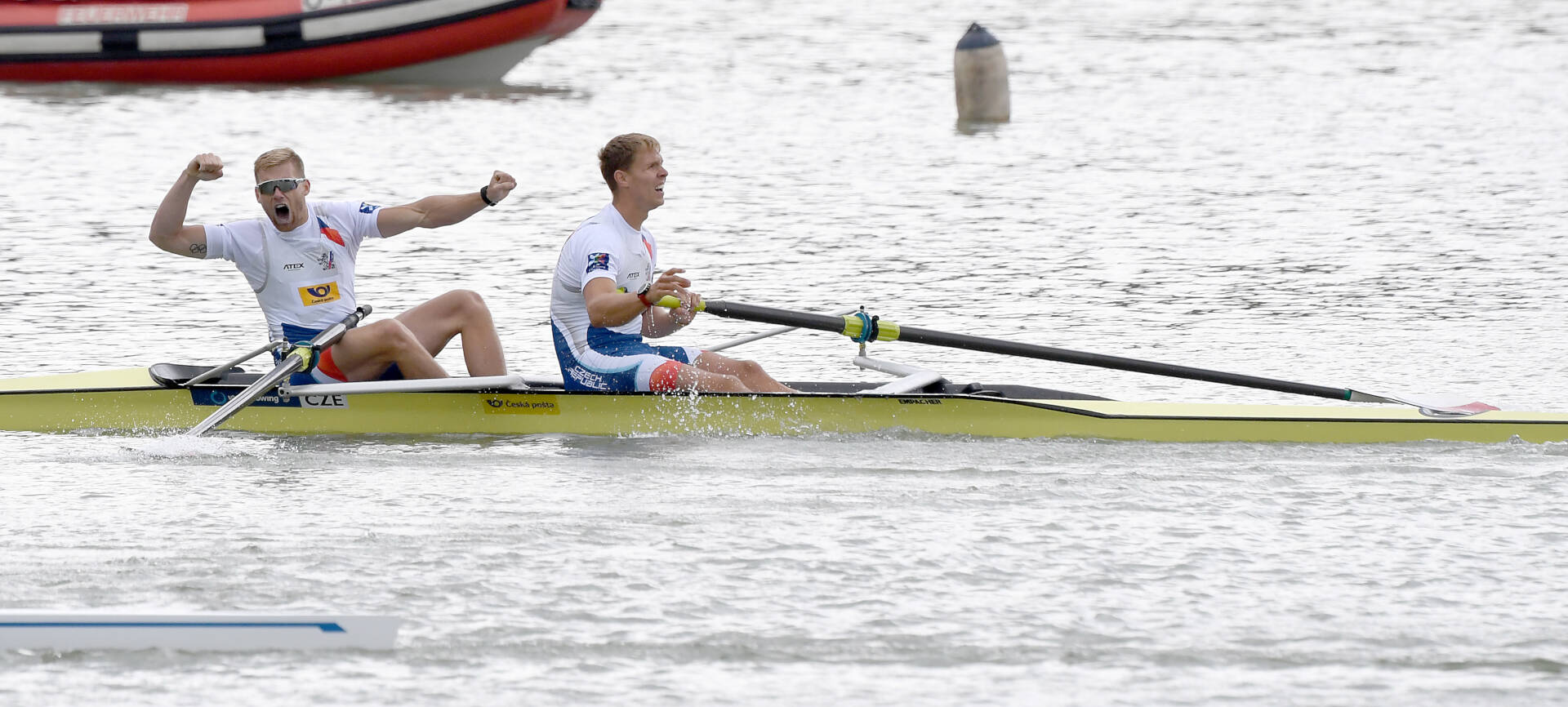 World Rowing Cup II Linz M2  Gold CZE