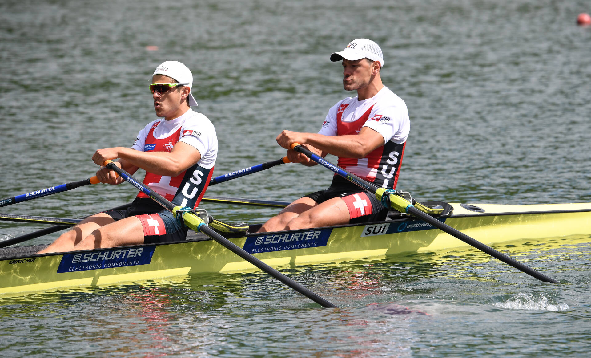 World Rowing Cup II Linz M2x Bronze SUI