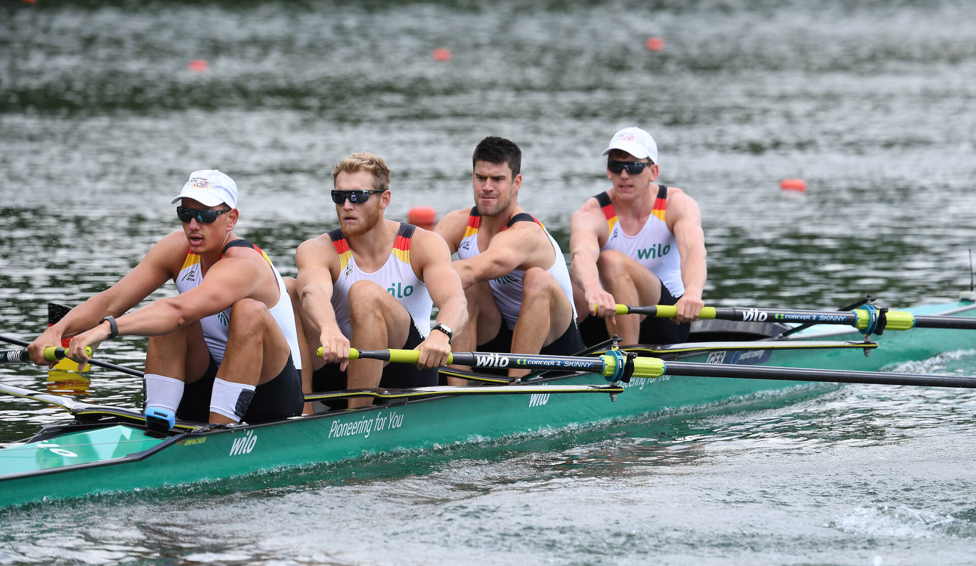 World Rowing Cup II Linz M4 Bronze GER