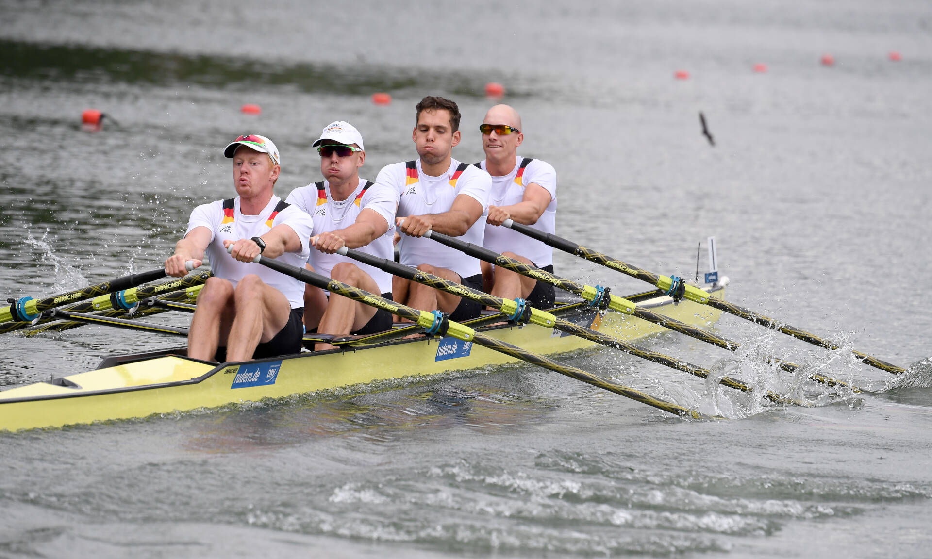 World Rowing Cup II Linz M4x Bronze GER