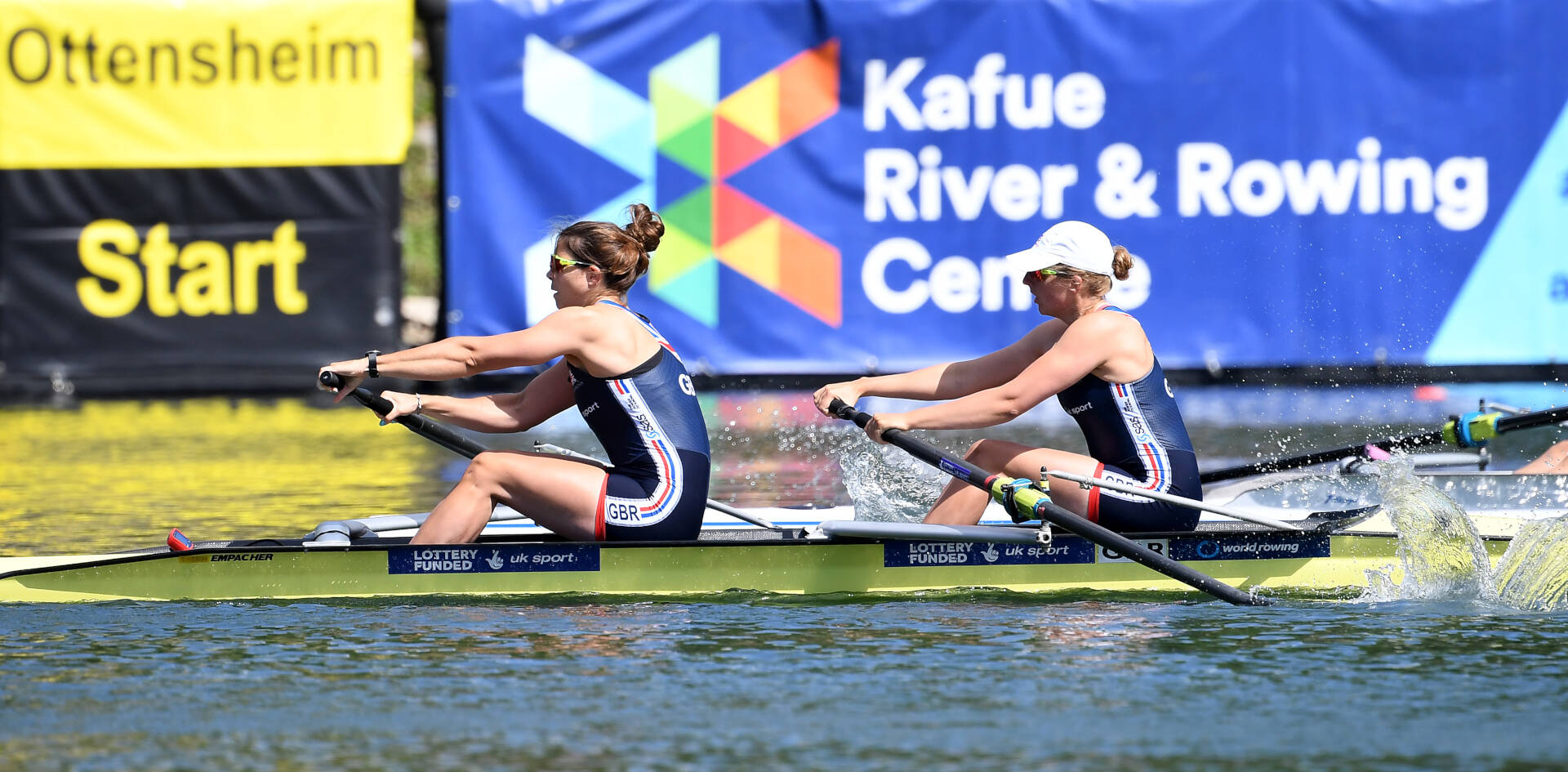 World Rowing Cup II Linz W2 GBR Bronze
