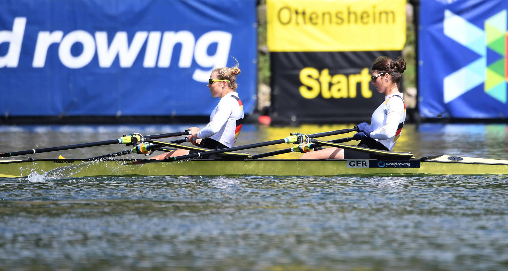 World Rowing Cup II Linz W2x Bronze GER