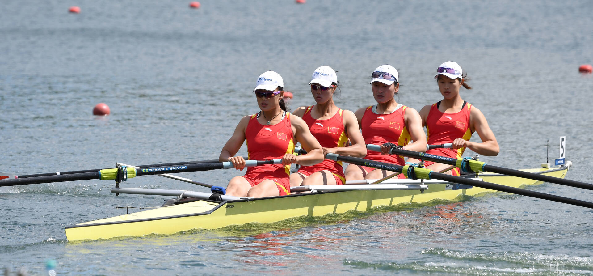 World Rowing Cup II Linz W4 Bronze CHN