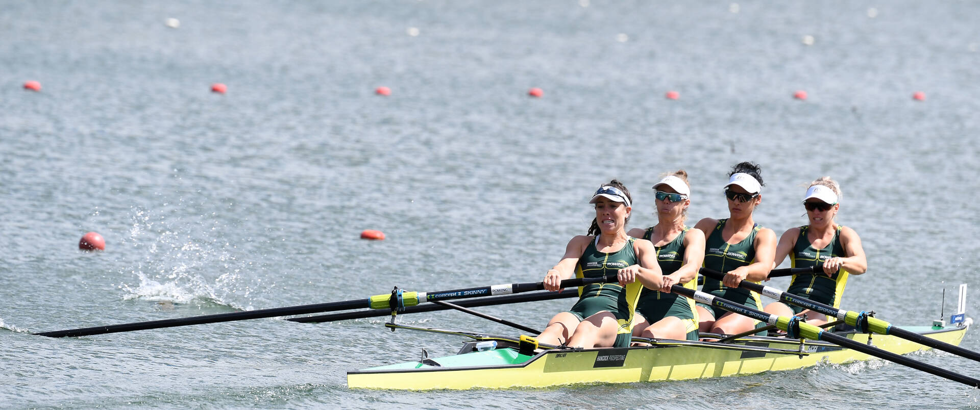 World Rowing Cup II Linz W4 Gold AUS