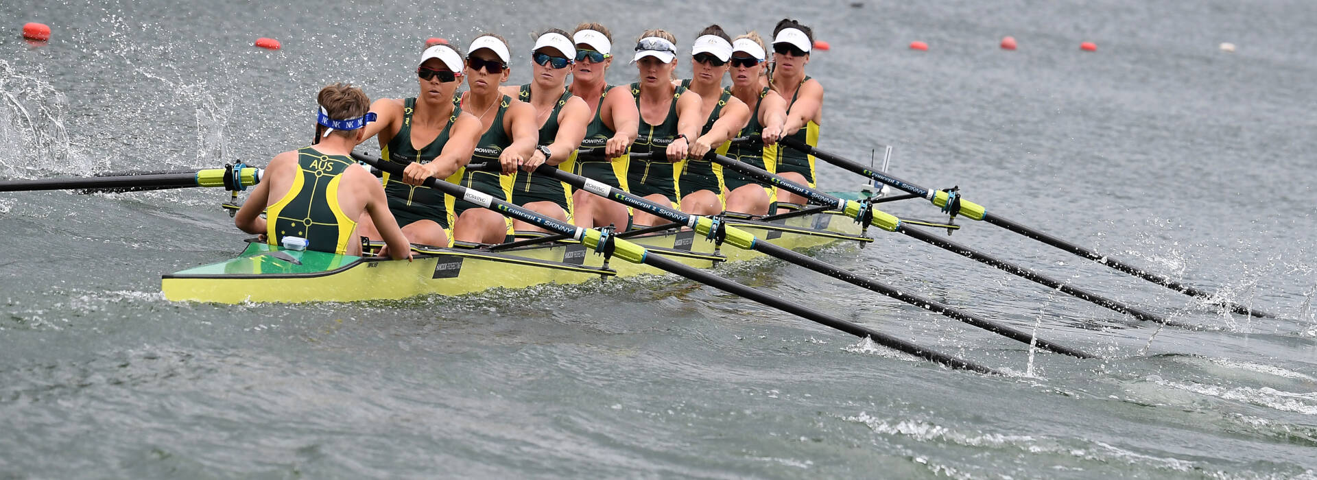 World Rowing Cup II Linz W8 Bronze AUS